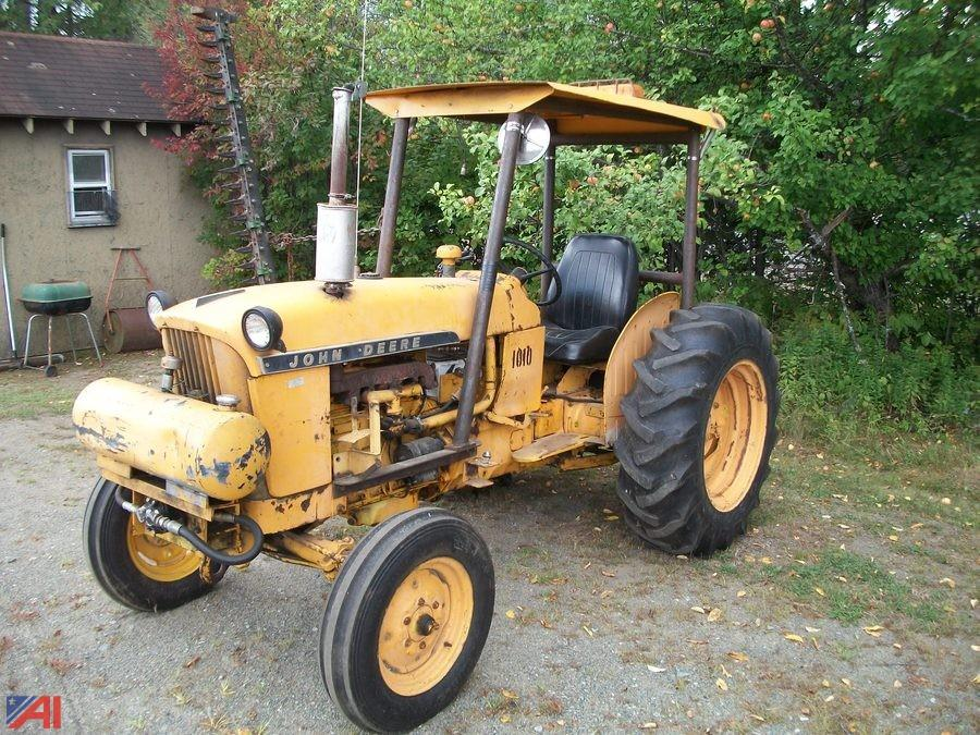 1962 John Deere 1010 : Auctions international auction town of indian lake