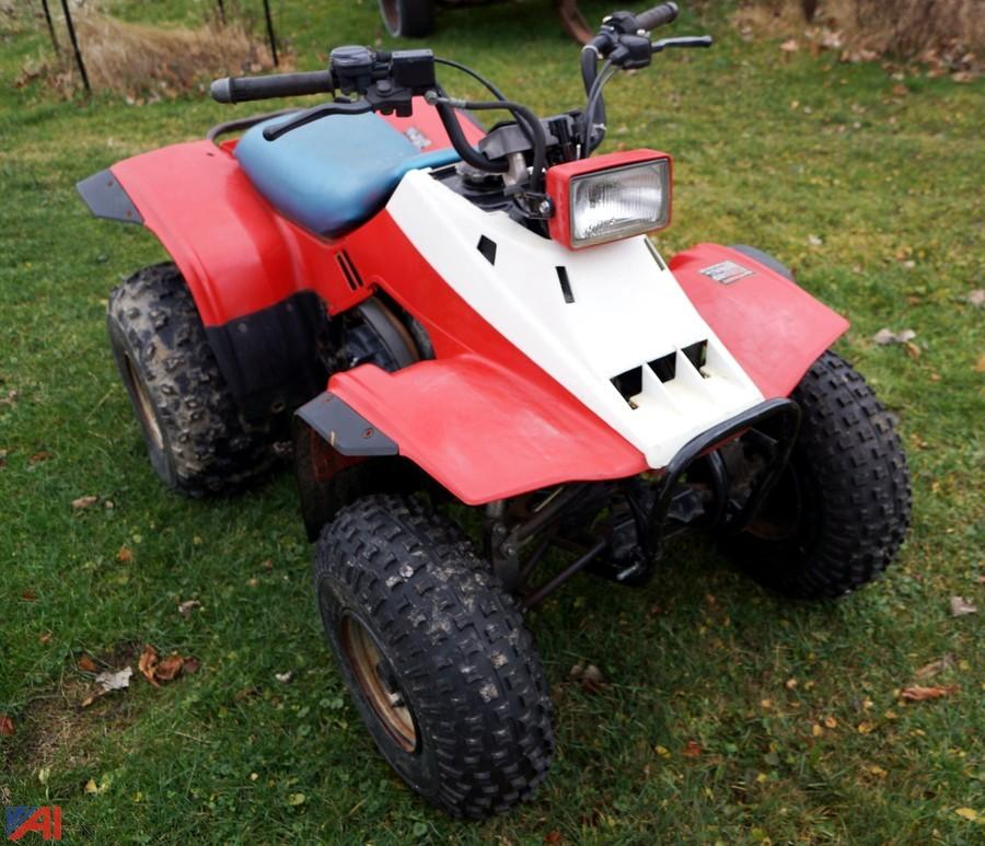 Honda Trx 200: Auction: Estate Vehicles