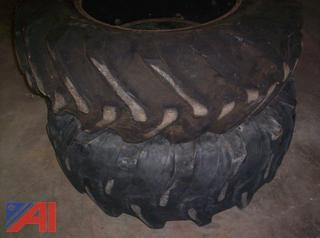 Lot of 5 Large Truck Tires
