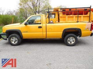 Updated 2006 Chevrolet Silverado 2500HD Pickup
