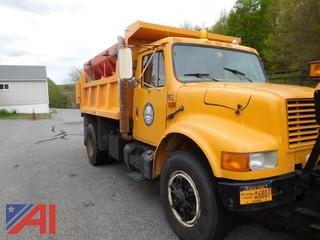 1996 International 4700 Dump w/ Plow & Sander