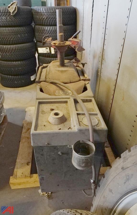 coats tire changing machine