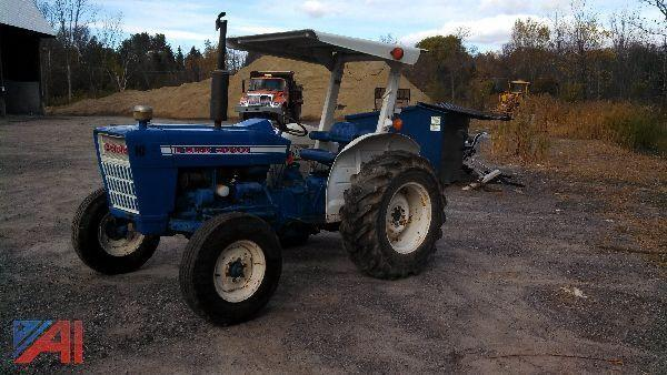 1965 Ford 3000 Tractor : Auctions international auction town of charlton highway