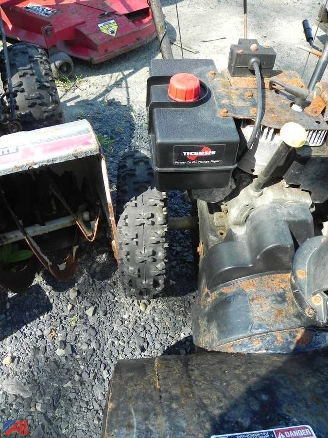 yard machine 26 snow blower