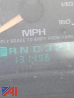 2001 Chevrolet Silverado 1500 Pickup w/ Plow