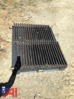 (4) Used Cast Iron Radiators.