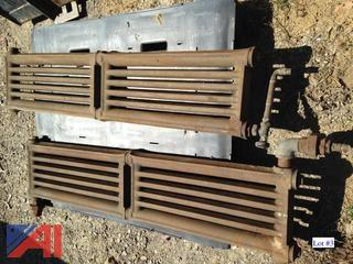 (2) Used Cast Iron Radiators