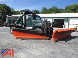 2000 International 2574 Dump w/ Plow, Wing & Sander