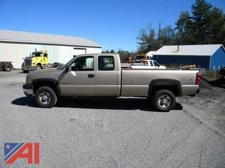 **UPDATED** 2006 Chevrolet Silverado 2500 HD Pickup