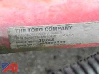 Toro Sweeper/Rotary Broom Attachment