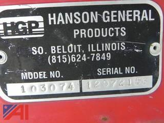 "Hanson 103074 PTO Driven 50"" Snow Blower Attachment"