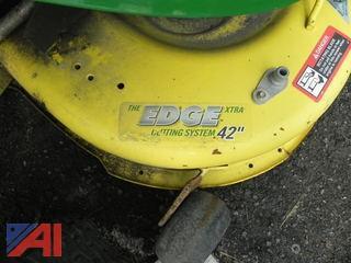 """John Deere X300 Tractor w/ 42"""" Mower Deck (#4)"""