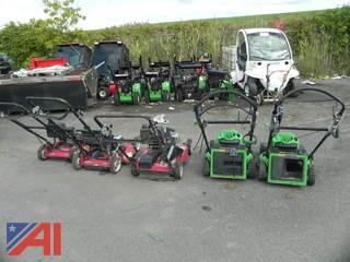 (5) Push Behind Lawn Mowers