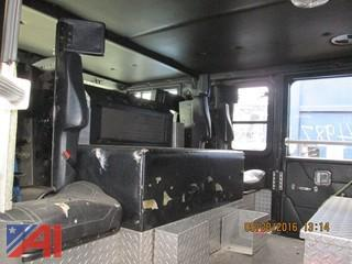 1998 Hendrickson Custom Fire Engine Pumper