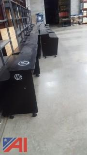 Lot of Assorted Computer Tables