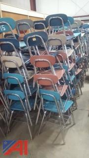Large Lot of Student Chairs