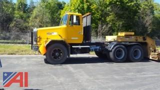 1991 White / Volvo ACL64BT 6x4 Tractor, Chassis & Trailer