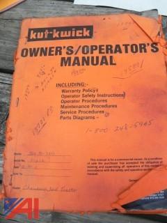 "1990 Kut-Kwick  SSM 35-72D Diesel 72"" Mower"