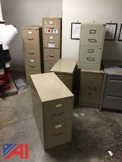 Lot of Desks, File Cabinets, Tables and Chair