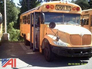2005 International Bluebird School Bus w/ Wheel Chair Lift