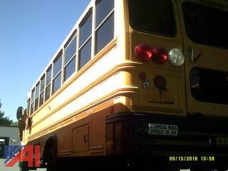 2005 International Bluebird School Bus w/ Wheel Chair Lift