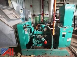 Onan 35EK-L 35KW Standby Natural Gas GenSet/Generator