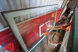 (6pc) Basketball Hoops