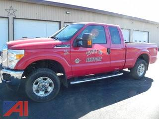 2012 Ford F-250 SD Extended Cab Pickup
