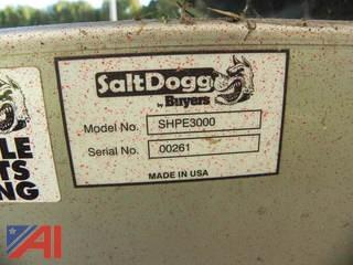 SaltDogg SHPE3000 Electric Drive Salt and Sand Spreader