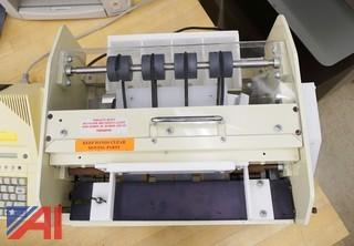 Six Piece Group Of Tabletop Print Shop Support Equipment