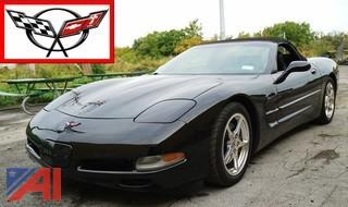 1998 Chevy Corvette Coupe Convertible