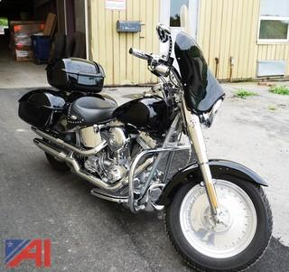 2005 Harley Davidson Screamin' Eagle 103 Fat Boy Motorcycle