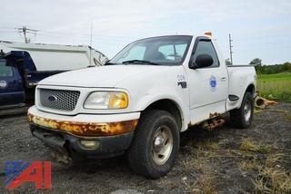 1999 Ford F150 XLT 4X4 Pickup Truck