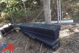 (2) Tool Boxes & (1) Truck Cap