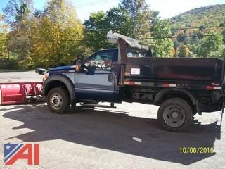 2011 Ford F450 Dump