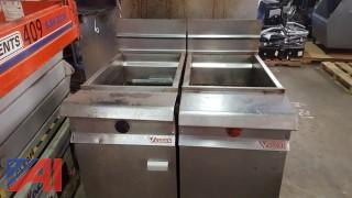 Vulcan Double Deep Fryer