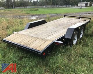 Salvaged 2014 Equipment Utility Trailer