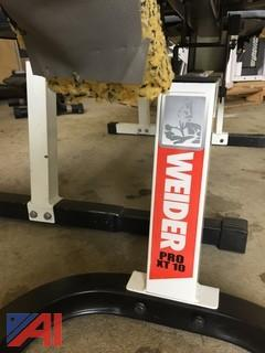 (2)  Weight Lifting Benches