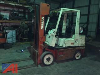 1992 Nissan 50 Forklift