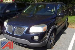**Lot Updated** 2005 Pontiac Montana SVG Van