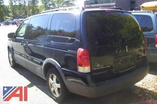 **Lot Updated** 2005 Pontiac Montana SVG Van