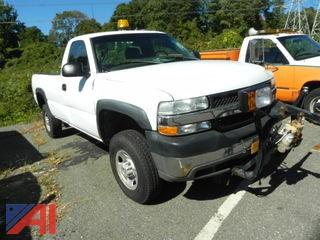 2002 Chevrolet Silverado 2500HD Pickup