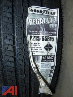 (2) New Goodyear Regatta Tires