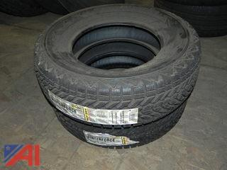 (2) New Winterforce Tires