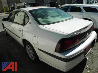 2002 Chevrolet Impala 4DSD