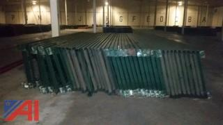 (10) sections of pallet racking