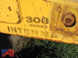 1970 International Tractor Backhoe