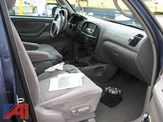 2001 Toyota Sequoia SUV