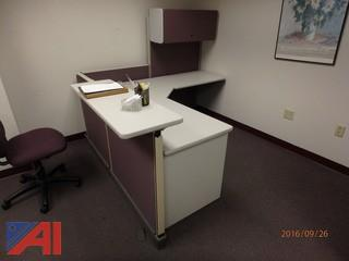 (2) Reception Desks