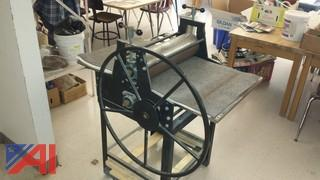 PRAGA Etching Press